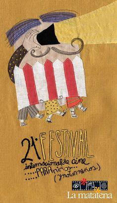 Acercar el cine de calidad a los pequeños espectadores es el objetivo del Festival Internacional de Cine para Niños (... y no tan Niños) organizado por La Matatena. Valeria Gallo firma el cartel de su 21� edición.