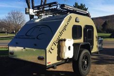 33 Awesome Off Road Adventure Hiker Trailer , If you're thinking of a trailer for off-road usage, it's important to make certain that the suspension and tires are capable of handling the kind of t. Off Road Camping, Camping Life, Camping Hacks, Rv Life, Tent Camping, Hiker Trailer, Overland Trailer, Off Road Teardrop Trailer, Off Road Trailer