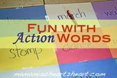 Get up! Get moving! Simple game with so many variations possible!! Guest article by MamaMia