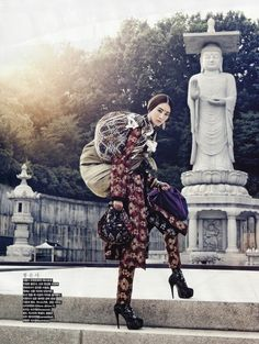 VOGUE KOREA: Seoul, Seoul, Seoul! by Photographer Kang Hyea-Won