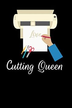 Cutting Queen: A Notebook for Vinyl and HTV Crafters Cricut Cards, Cricut Vinyl, Easy Gifts To Make, Cricut Cartridges, Cheap Gifts, Inexpensive Gift, Vinyl Projects, Cricut Explore, Thank You Gifts
