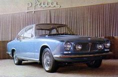 Jaguar S-Type Coupé, 1966, by Frua. Pietro Frua's proposal for a grand-touring coupé based on the Jaguar S-type saloon