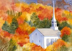Autumn Landscape New England