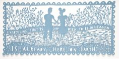 Rob Ryan paper cut: Everything That Is, 2009