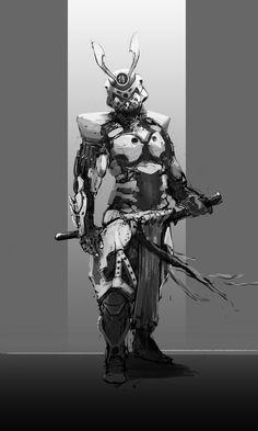 Sci Fi Samurai