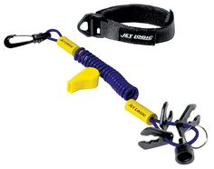 Ultimate PWC Safety Lanyard Blue Silver *** Click on the image for additional details.