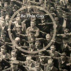 August Landmesser, Hamburg Shipyard Worker Who Refused To Make Nazi Salute.If you Love America and its Constitution let us all imitate August Landmesser and stand united August Landmesser, Humor Grafico, Jehovah's Witnesses, Faith In Humanity, Illuminati, In This World, America, In This Moment, Thoughts