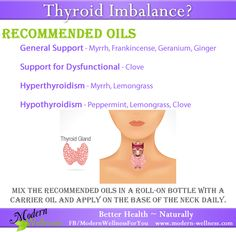 I've seen amazing things happen when people use essential oils for their thyroid imbalance.