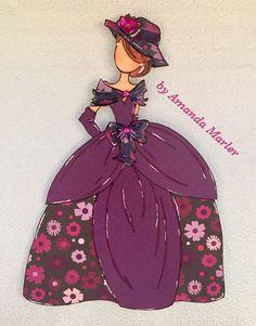 Julie Nutting Prima Doll Stamp - Aurora