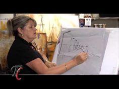 MONITOR | Gabriela Mensaque pintando con Acrílicos Profesionales Lautrec | Manos a la Obra - YouTube