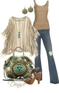 Boho Chic LOVE the purse!