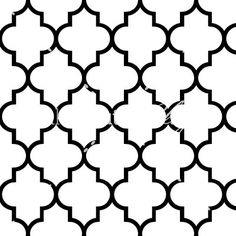 Quatrefoil Black Seamless Pattern by makincuteblogs.com/shop - $1.99