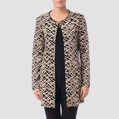 Joseph Ribkoff cover up top (€240) ❤ liked on Polyvore featuring tops, beige, joseph ribkoff tops, beige top, rayon tops, joseph ribkoff and viscose tops