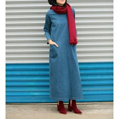 We Love Modest Fashion! Islamic Fashion, Muslim Fashion, Modest Fashion, Girl Fashion, Fashion Outfits, Hijab Style, Casual Hijab Outfit, Hijab Turkish, Gilet Long