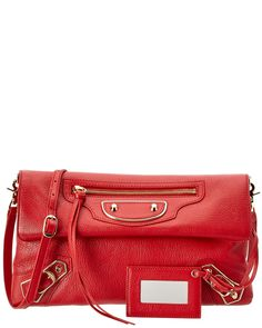 00cc78835c4f Balenciaga Holiday Collection Classic Metallic Edge Envelope Strap Leather  Clutch is on Rue. Shop it