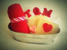 Kit jabones san Valentín $120