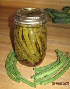 Very Yummy Spicy Dilly Beans Recipe - Genius Kitchen Canning Vegetables, Veggies, Vegetable Side Dishes, Vegetable Recipes, Dilly Beans, Canning Pickles, Hottest Chili Pepper, Bean Recipes, Canning Recipes