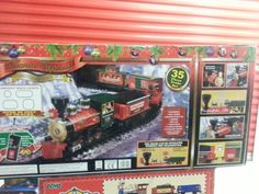 EZTEC Battery Operated Wireless Remote Control North Pole Express ...