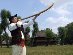 Folk costume from Beskid Śląski (Silesian Beskids), Poland.