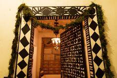 painted door John Derian at Home in New York City