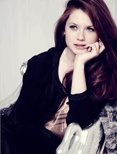 Bonnie Wright. Overshadowed by Emma Watson - of course it's pretty natural, given Watson has a much bigger role in the HP series, but still.