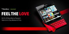 Get of $100 discount on Blackberry passport purchase this week
