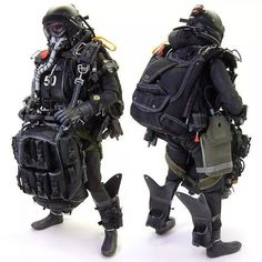 Wow haho diver Special Ops, Special Forces, Tactical Suit, Navy Carriers, Special Operations Command, Military Action Figures, Bad To The Bone, Military Gear, Shadowrun