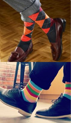 We design crazy socks for men and women. New cool socks launching every month. Designed to be the best socks you've ever worn. High quality funny socks designed to get compliments. Funky Socks, Colorful Socks, Dress Socks, Men's Socks, Crazy Socks For Men, Keep Shoes, Suit Shoes, Designer Socks, Happy Socks