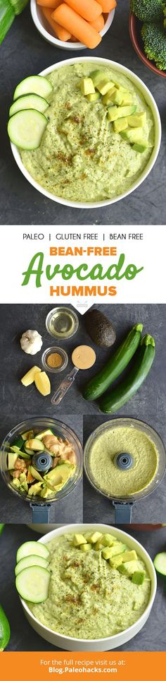 You'll want to spread this avocado hummus on everything. Get the full recipe here:  http://paleo.co/avohummusrcp