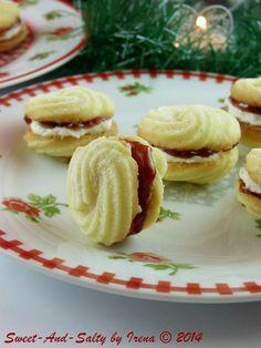 sweet-and-salty: Bečki spiralni kolačići / Viennese Swirl Cookies