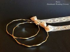 Buy Handmade Wedding Crowns.Greek Stefana.Orthodox Wedding Headbands.Silver Plated Brass Στεφανα.Stephana.ELEGANT by raniacreations. Explore more products on http://raniacreations.etsy.com