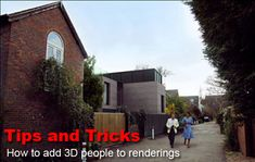 Blend people into your renderings and make it look more convincing using these tips.