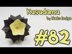 KUSUDAMA by Nadin Ivolga - Yakomoga Origami tutorial - YouTube
