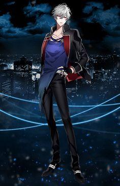 ตัวละคร [Thanatos คืน] เว็บไซต์อย่างเป็นทางการ M Anime, Hot Anime Boy, Anime Love, Anime Guys, Boy Character, Character Design, Vampire Hunter, Shall We Date, Anime Scenery