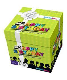 North Star Games Crappy Birthday Game by North Star Games #zulily #zulilyfinds