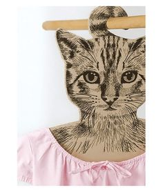 Cat Hanger  - From France - Cintre Original Chat Animal Company