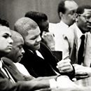 In 1989, four young #black men, and one Latino man was accused of raping and beating a 28-year-old investment banker. The banker often ran in the park evenings after work. The young woman was left with no memory of the attack. The young men, #Kevin Richardson, Raymond Santana Jr., #Kharey Wise, #Yus...In 1989, four young #black men, and one Latino man was accused of raping and beating a 28-year-old investment banker. The banker often ran in the park evenings after work. The young woman was…