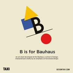 """B is for Bauhaus"" Inspired by this post on dog breeds and the alphabet, designer Caisa Nilaseca has created an art style version for. Different Art Styles, Fashion Art, Alphabet, Letters, Inspiration, Image, Social Media, Design, Poster"