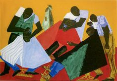 Jacob Lawrence: African-American Harlem Renaissance Painter, While looking for something else on the 'net I came across an artist with whom I was completely unfamiliar. Toledo Museum Of Art, Art Museum, Space Museum, African American Artist, American Artists, African Art, Jacob Lawrence Art, Romare Bearden, Shops