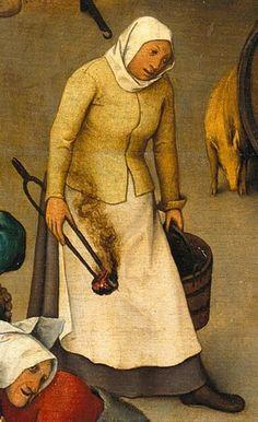 The Dutch Proverbs, Pieter Bruegel the Elder: Proverbs-ImageDiver Jan Van Eyck, Pieter Bruegel The Elder, Renaissance Paintings, Dutch Painters, Renaissance Fashion, Art Database, Make Color, Old Master, Bosch