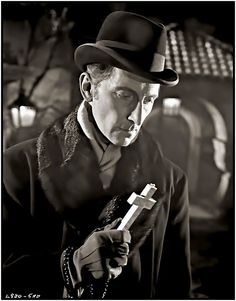 Publicity Still: Peter Cushing. Dracula. (1958) Directed by Terence Fisher,