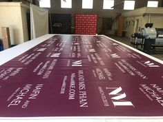 Amazing 8x20 Wedding Vinyl Backdrops 💜 . . The Color Trends for 2018 is Violet and one of our customer ordered lovely violet background color backdrops. . . We are vey honored to have this order💕 . . #stepandrepeat #stepandrepeats #stepandrepeatbanner #stepandrepeatbackdrops #Banner#Banners#Custombanner#Vinylbanner#vinylbanners#lasvegas#lasvegasthebestbannercompany#convention#conventionbanner#lasvegasconventionbanner#fabricbanner#fabricbanners#stepandreapeat #bannerstand #redcarpet #violet