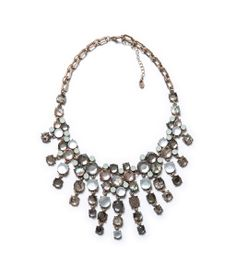 NECKLACE WITH A TEARDROP SHAPED STONE from Zara