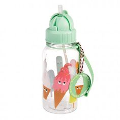 a60348f77c Ice Cream Friends Water Bottle from Rex London - the new name for  dotcomgiftshop. Great value gifts and homeware in original designs.