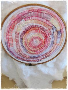 """mantra"" embroidery almost finished by peregrine blue, via Flickr"