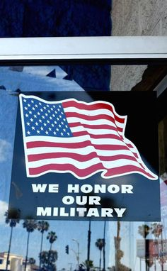 Did you know we offer military discounts?