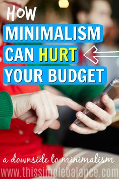Minimalism claims to set people free from consumerism. But does it really? Get advice on how to handle struggling with consumerism even AFTER you've become a minimalist. #minimalist