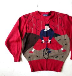 deadstock Bicycle Gal sweater
