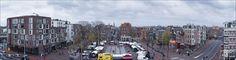 Panorama van het#Haarlemmerplein, vastgelegd door fotograaf #ThomasSchlijper op 11november 2015
