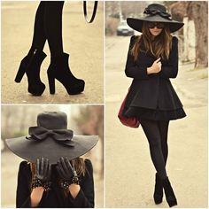 Lady in Black | Lookbook RSS